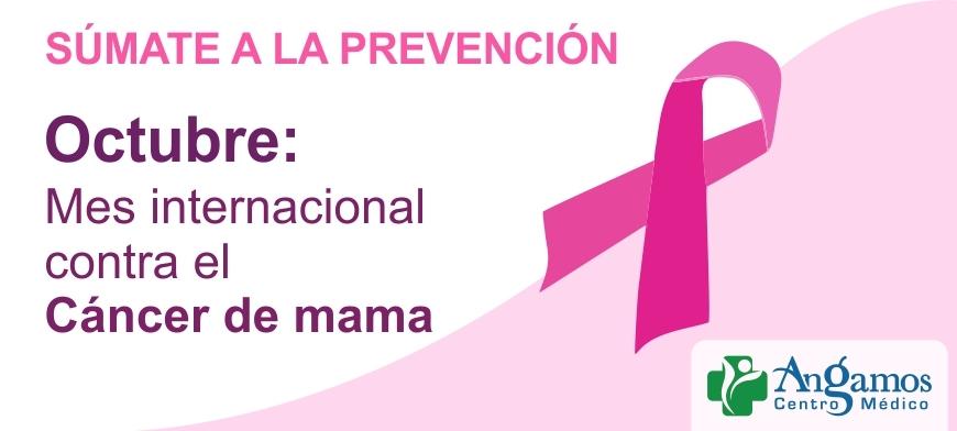 Mes internacional contra el Cáncer de mama
